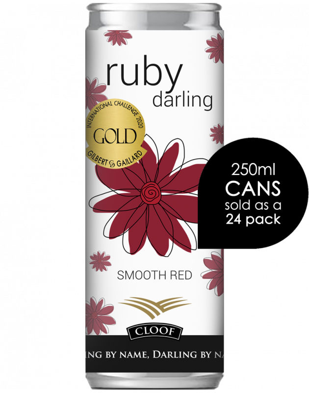 Darling wine in a can – Ruby Darling Smooth Red